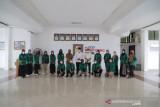 Usai mengabdi 40 hari di Solok, 80 mahasiswa KKN Unand dilepas kembali kampus oleh Wali Kota