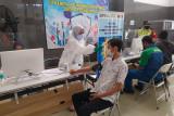 KAI catat sebanyak 4.827 orang akses vaksinasi di Daop 6 Yogyakarta