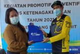 BPJAMSOSTEK Semarang Majapahit kembali bagikan APD ke nakes dan pekerja
