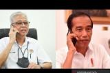 Presiden Jokowi sampaikan selamat ke PM Ismail Sabri