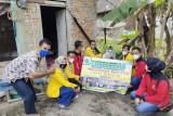 Ini aksi sosial mahasiswa KKN STIH Lubuk Sikaping dalam membantu masyarakat kurang mampu