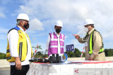 Presiden Jokowi : Agenda pembangunan ibu kota baru tetap diteruskan