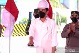 Jokowi: Peresmian tol pertama di Kalimantan jadi momen bersejarah
