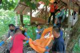 Dalam pondok di kebun kelapa, pria lansia ini ditemukan tak bernyawa