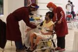 Ratusan penyandang disabilitas di DIY menjalani vaksinasi massal