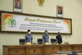 Rapat Paripurna DPRD Inhil penyerahan KUA dan PPAS tahun anggaran 2022