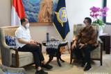 Gubernur Kepri dan Menhub bahas  Pelabuhan Malako