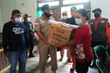 Pemkab Katingan salurkan bantuan sembako dan obat-obatan
