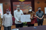 Gubernur Sulbar dan Dirjen Binalavotas teken NPHD pembangunan BLK