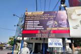 Polres Pekalongan Kota pasang banner ajakan tertib  berlalu lintas