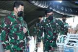 Panglima TNI menggunakan booster vaksin MSC