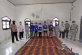 Jasa Raharja bagikan sembako untuk masyarakat Desa Purwa Agung, Waykanan
