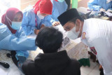 Banyuasin laksanakan vaksinasi COVID-19 berbasis keluarga