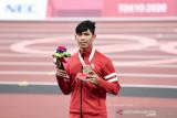 Saptoyogo senang tampil di final meski tak berhasil rebut medali 200m