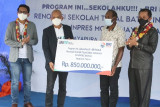 BRI renovasi SDN Mosso Skouw Papua di perbatasan RI-PNG