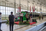 Menkomarves-Menhub meluncurkan Kereta Api Bandara YIA