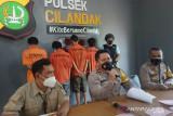Polisi amankan empat pemuda yang kerap palak sopir truk