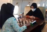 Tim catur Lampung uji coba melawan Sumsel jelang PON XX Papua