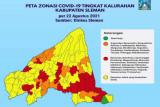 Satgas Sleman catat 50 kelurahan zona kuning COVID19