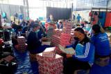 Tagana-Karang Taruna Kalteng bantu penyediaan makanan pasien COVID-19