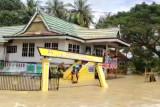 Danau Tempe meluap akibat hujan, belasan kecamatan di Sulsel terdampak banjir