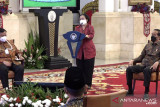 Ketum PDIP berpesan kepada Jokowi agar tegar menghadapi pandemi COVID-19