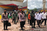 Pangdam XVII dampingi Panglima TNI dan Kapolri kunjungan ke Mimika