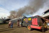 Polisi selidiki kebakaran lima bus milik Dishub Nabire Papua