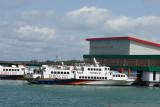Kapal cepat rute Tanjungpinang-Batam mulai normal berlayar