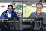 Erick dan Sandiaga sepakat ubah BUMN PFN menjadi lembaga pembiayaan film