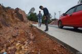 Dinas PUTR Lingga bungkam soal proyek jalan Tanjung Bungsu