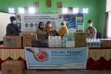 DSLNG kembali bantu alat kesehatan untuk Puskesmas Batui, Kintom, dan Nambo hadapi pandemi