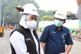 Satgas BUMN Jatim kembali memberikan bantuan oksigen 31 ton