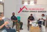 DSLNG bantu Rumah Jurnalis Banggai tangani COVID-19 di kalangan wartawan