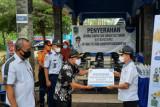 Bank Jateng Banjarnegara bantu gerobak sampah dan sarana prokes