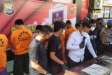 Polrestabes Makassar tetapkan tujuh tersangka penculikan supir transportasi daring