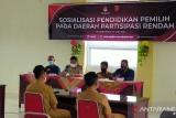 Alasan KPU Agam sosialisasikan pendidikan pemilih di enam kecamatan ini