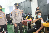 Kerjasama dengan Polres Bengkalis, BEM selenggarakan vaksinasi mahasiswa