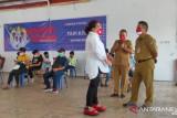 TP-PKK Minahasa apresiasi KNPI bantu vaksinasi COVID-19