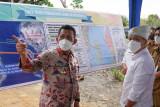Gubernur Ansar dan Wamen ATR tinjau landing point jembatan Batam-Bintan