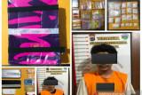 Ditresnarkoba Polda Kalsel tangkap warga Kaltim edarkan 882,52 gram sabu-sabu