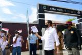 Presiden Jokowi perintahkan vaksinasi COVID-19 secara masif bagi pelajar dan santri