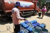 Gunung Kidul masih mendistribusikan air kepada warga terdampak kekeringan