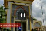 Keindahan Masjid Hubbul Wathan di pulau seribu masjid