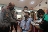PON Papua-Cakupan vaksinasi di empat wilayah pelaksana PON 48,7 persen