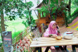 Wisata kuliner dan warung kopi di tengah sawah diminati warga