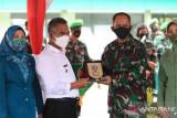 Wali Kota Tarakan Menangis Saat Melepas Dandim 0907/Tarakan Lama
