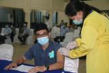 IAIN Kendari Kerja Sama Polda Sultra Siap Laksanakan Vaksinasi Untuk Mahasiswa
