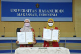 Unhas MoU tridarma perguruan tinggi bersama tiga kabupaten di Sulsel