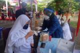 Ribuan Pelajar Ikuti Kegiatan Vaksin Covid-19 di MAN 2 Pesisir Selatan